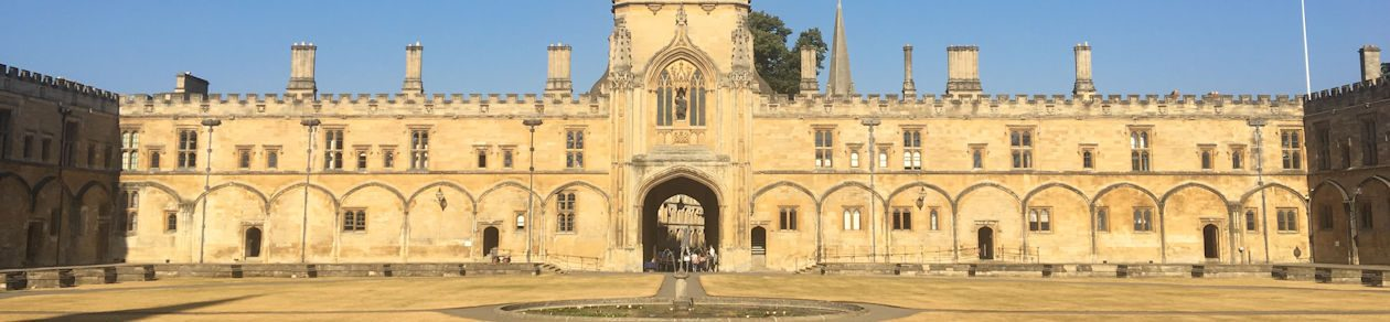 The Oxford Experience Blog